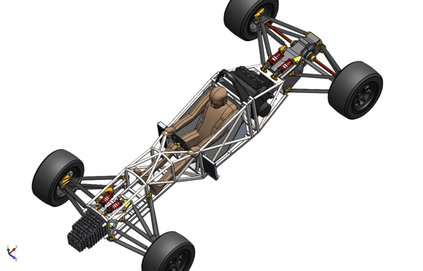 F1000 Racing Car – Motorsport Design Services