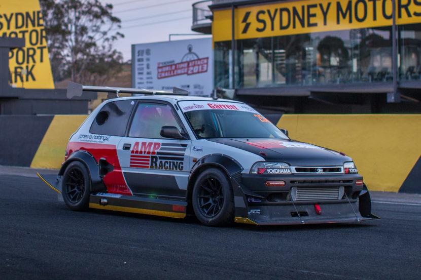 Daihatsu Charade Time Attack Suspension Redesign Motorsport Design